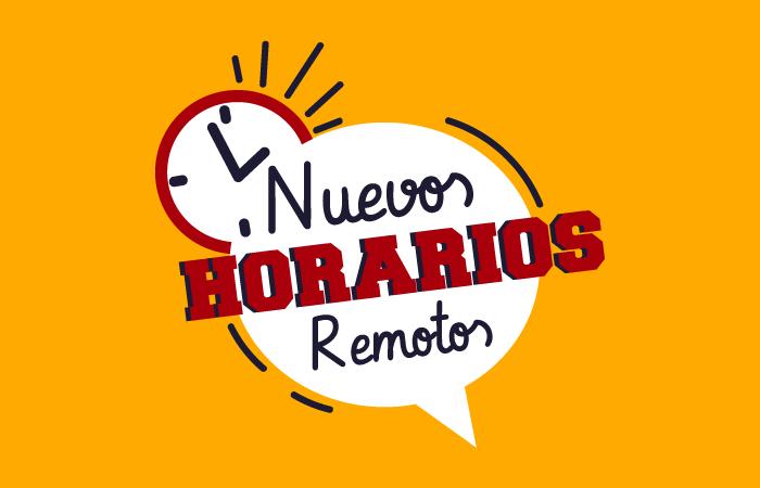 Nuevos Horarios Remotos
